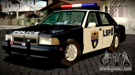 New Police LS for GTA San Andreas