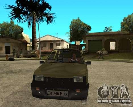 OKA 1111 Kamaz for GTA San Andreas back view