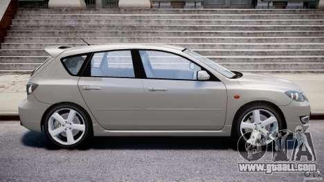 Mazda 3 2004 for GTA 4 left view