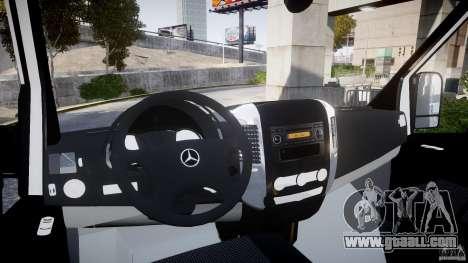 Mercedes-Benz Sprinter Iranian Ambulance [ELS] for GTA 4 right view