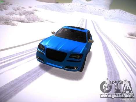 Chrysler 300C SRT8 2011 for GTA San Andreas