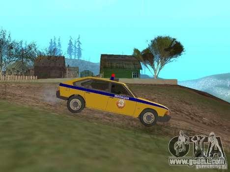 2141 AZLK GAI for GTA San Andreas left view