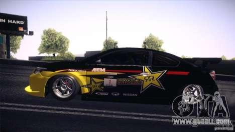 Scion TC Rockstar Team Drift for GTA San Andreas right view