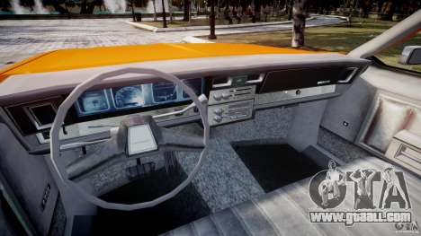 Chevrolet Impala Taxi v2.0 for GTA 4 back view