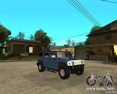 AMG H2 HUMMER for GTA San Andreas right view