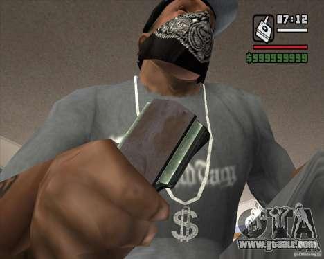 Detector of s. t. a. l. k. e. R # 4 for GTA San Andreas third screenshot