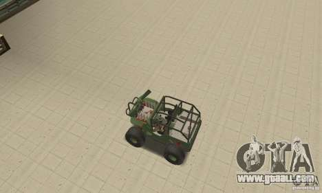 Jeep Willys Rock Crawler for GTA San Andreas upper view