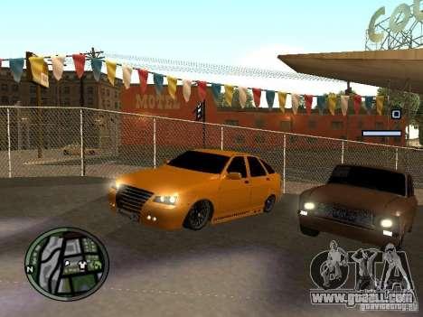 Lada Priora DagStailing for GTA San Andreas