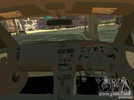 Nissan Skyline GT-R V-Spec (R33) for GTA 4 back view