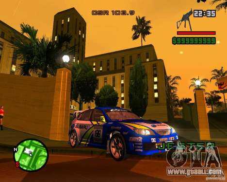 DiRT 2 Subaru Impreza WRX STi for GTA San Andreas