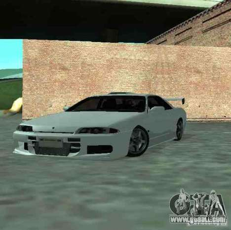 Nissan Skyline R32 GT-R for GTA San Andreas side view