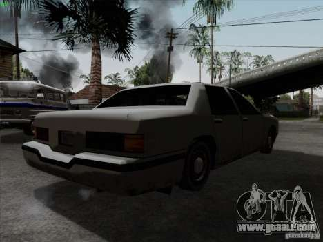 New Elegant for GTA San Andreas back left view