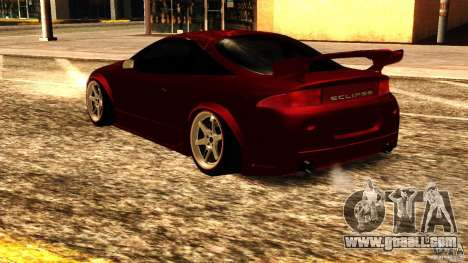 Mitsubishi Eclipse 1998 for GTA San Andreas back left view
