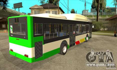 Mercedes Benz MAN Lions City CNG for GTA San Andreas right view