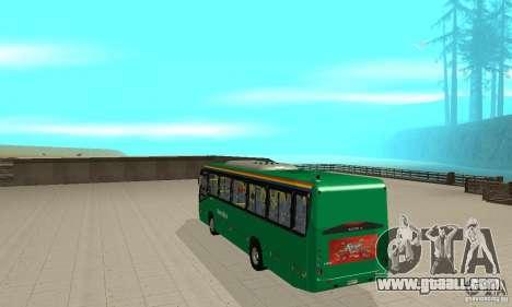 MetroBus of Venezuela for GTA San Andreas right view