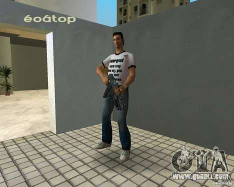AK-47 with Underbarrel Shotgun for GTA Vice City third screenshot