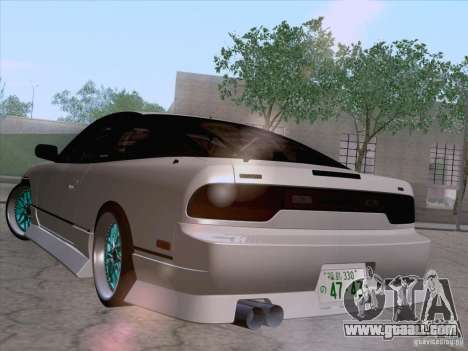 Nissan 240SX V2 for GTA San Andreas left view