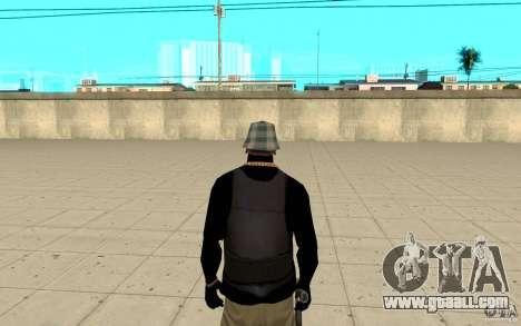 Bronik skin 4 for GTA San Andreas third screenshot