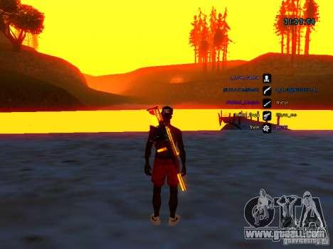 Skin pack for samp-rp for GTA San Andreas second screenshot