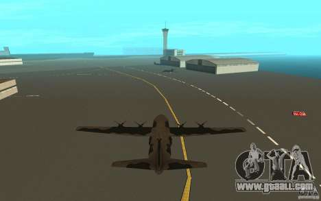 C-130 From Black Ops for GTA San Andreas right view