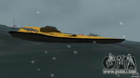 X-87 Offshore Racer for GTA Vice City left view