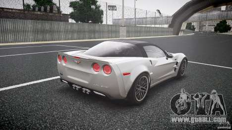Chevrolet Corvette ZR1 2009 for GTA 4 side view
