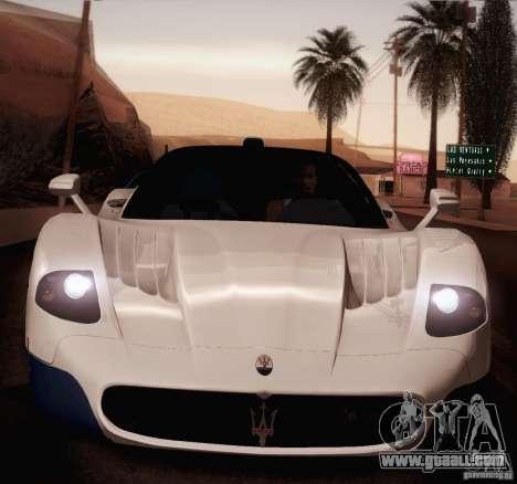 Maserati MC12 V1.0 for GTA San Andreas