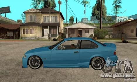 BMW M3 HAMMAN for GTA San Andreas left view