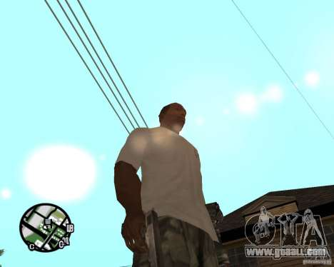 Normal hands CJâ for GTA San Andreas third screenshot