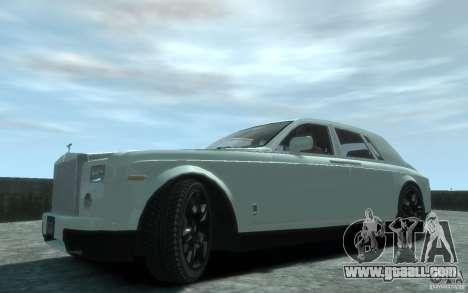 Rolls-Royce Phantom for GTA 4 left view
