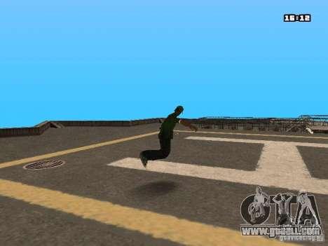 Parkour Mod for GTA San Andreas twelth screenshot