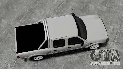 Ford Ranger 2008 XLR for GTA 4