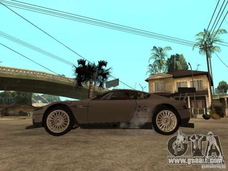 Aston Martin DBR9 Sport for GTA San Andreas left view