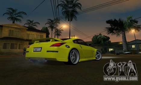 Nissan 350Z for GTA San Andreas left view