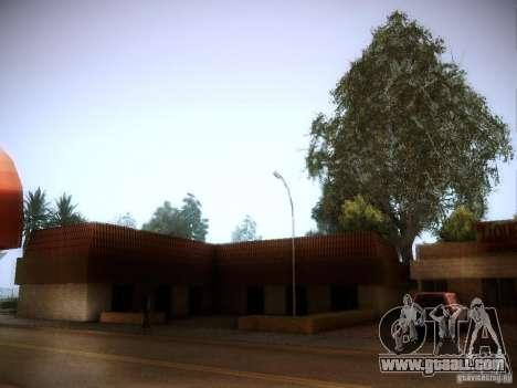 New trees HD for GTA San Andreas second screenshot