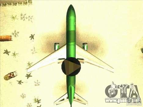 Boeing E-767 for GTA San Andreas inner view