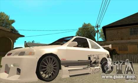 Honda Civic Tuning Tunable for GTA San Andreas wheels