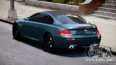 BMW M6 2010 v1.5 for GTA 4 side view