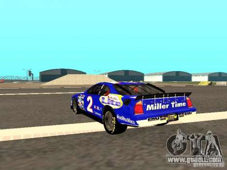 Ford Taurus Nascar LITE for GTA San Andreas back left view