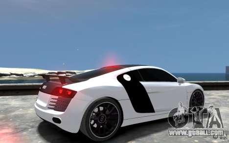 Audi R8 2008 Beta for GTA 4 right view