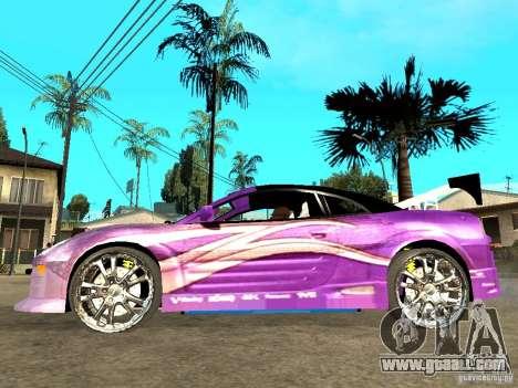 Mitsubishi Spider for GTA San Andreas left view
