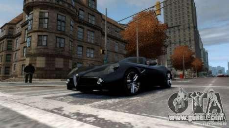 Alfa Romeo 8C Competizione Spider v1.0 for GTA 4 left view