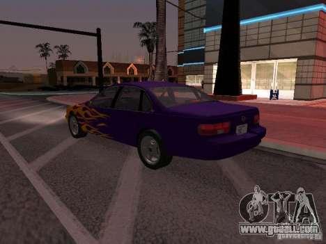 Chevrolet Impala SS 1995 for GTA San Andreas engine