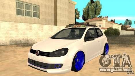 Volkswagen Golf MK6 Hybrid GTI JDM for GTA San Andreas