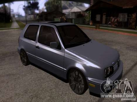 Volkswagen Golf 3 VR6 for GTA San Andreas