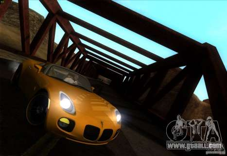 Pontiac Solstice GXP for GTA San Andreas