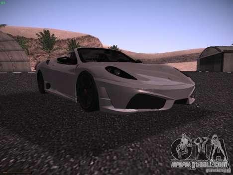 Ferrari F430 Scuderia M16 for GTA San Andreas left view