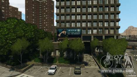 Remake second police station for GTA 4 second screenshot