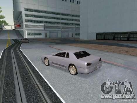 Elegy HD for GTA San Andreas back view