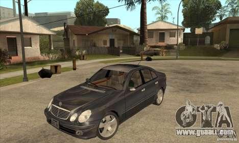 Mercedes-Benz E500 2003 for GTA San Andreas
